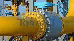 شماتیکی از لوله انتقال آب آشامیدنی حاوی پوشش رنگ رویه اپوکسی پلی آمین پایه حلال