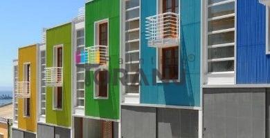 رنگ نمای ساختمان ویلایی